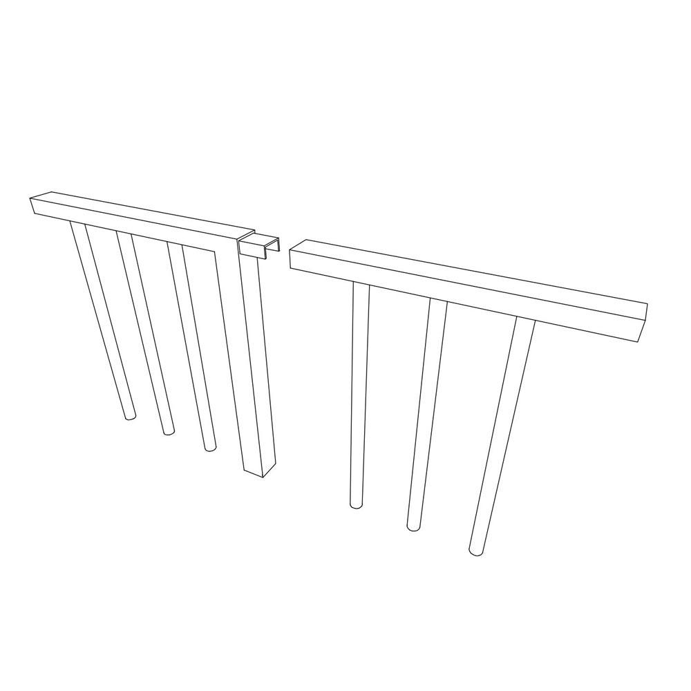 Koppeling hekwerken